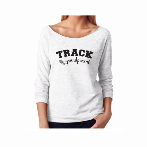 Track Grandparent Terry 3/4 Sleeve Raglan