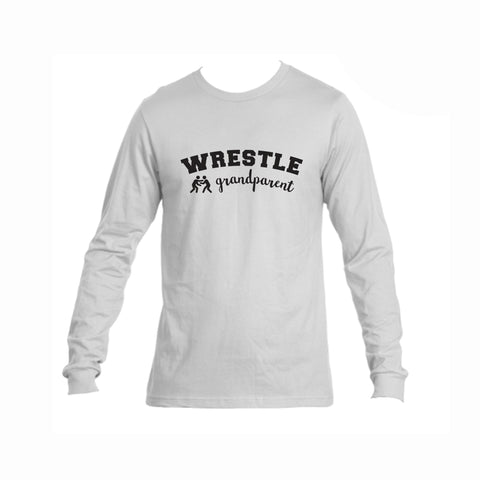 Wrestle Grandparent Triblend Long Sleeve Tee