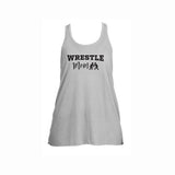 Wrestle Mom V2 Flowy Racerback Tank
