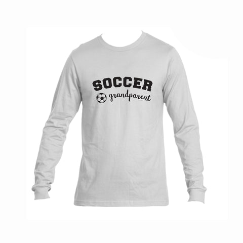 Soccer Grandparent Triblend Long Sleeve Tee