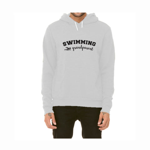 Swim Grandparent Pullover Fleece Hoodie