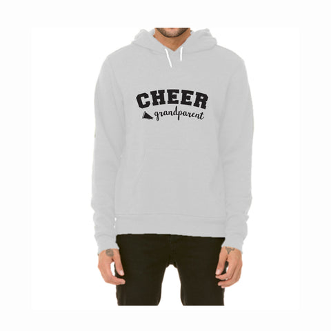 Cheer Grandparent Pullover Fleece Hoodie