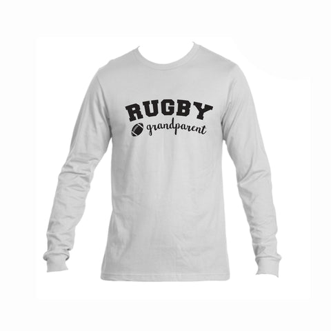 Rugby Grandparent Triblend Long Sleeve Tee