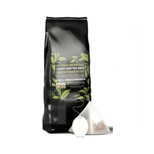 Equilibrium English Breakfast Loose Leaf CBD Tea Bags - (12 X 3.4mg Bags) - cannabidolpharm.com
