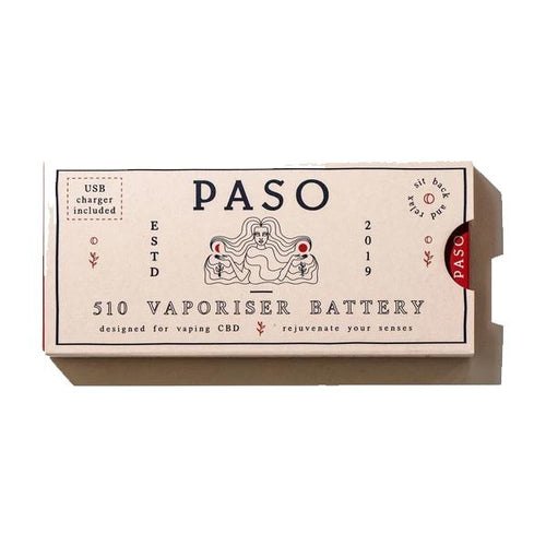 Paso CBD Vape Pen Battery - cannabidolpharm.com