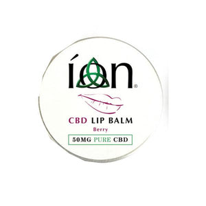 ION Pure CBD Lip Balm -  50mg (10ml) - cannabidolpharm.com