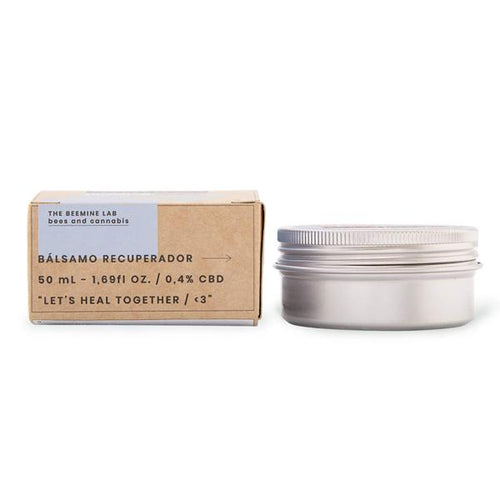 The Beemine Lab CBD Recovery Balm - 200mg (50ml) - cannabidolpharm.com