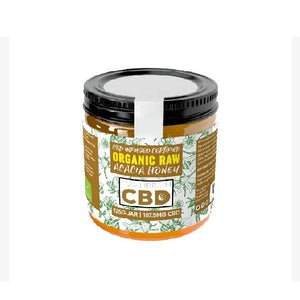 Equilibrium 187.5mg CBD Organic Raw Acacia Honey 125g - cannabidolpharm.com