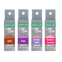 Load image into Gallery viewer, CBDistillery 200mg CBD Vape Cartridges - cannabidolpharm.com