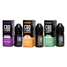 Load image into Gallery viewer, CBDistillery 1000mg CBD E-Liquid 30ml (85VG/15PG)
