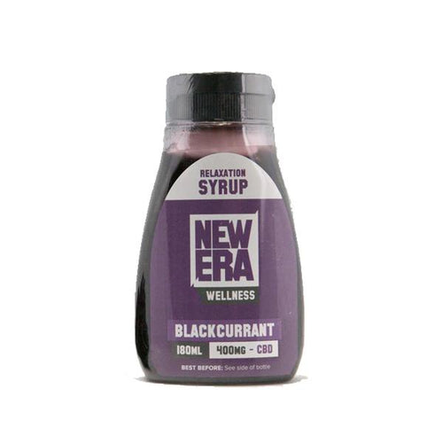 New Era Wellness Relaxation Syrup - 400mg (180ml) - cannabidolpharm.com
