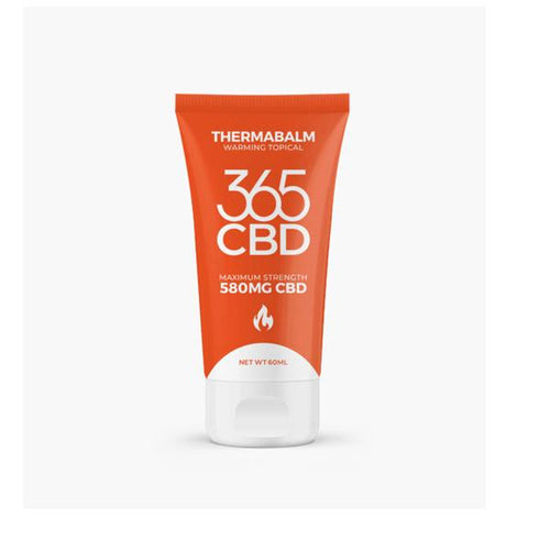 365CBD Warming CBD Balm - 580mg (60ml) - cannabidolpharm.com