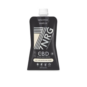 7NRG Post-Workout Vanilla 25mg CBD Protein Shake - cannabidolpharm.com