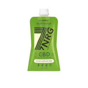 7NRG Post-Workout Vegan Vanilla 25mg CBD Protein Shake - cannabidolpharm.com