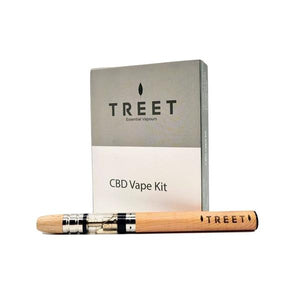 TREET CBD Vape Kit With Cartridge - 100mg