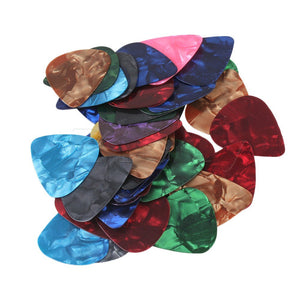 Guitar Picks Celluloid Thin 0.46mm - 50 Pack