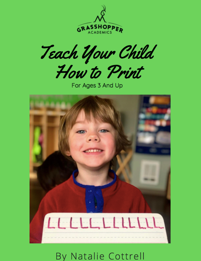 Teach Your Child How to Print e-Book