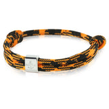 Skipper − Surferband - Armband - Orange/Schwarz