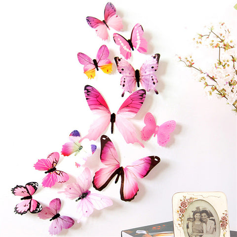 Colorful Creative Butterfly Wall Sticker - Life with Lemons