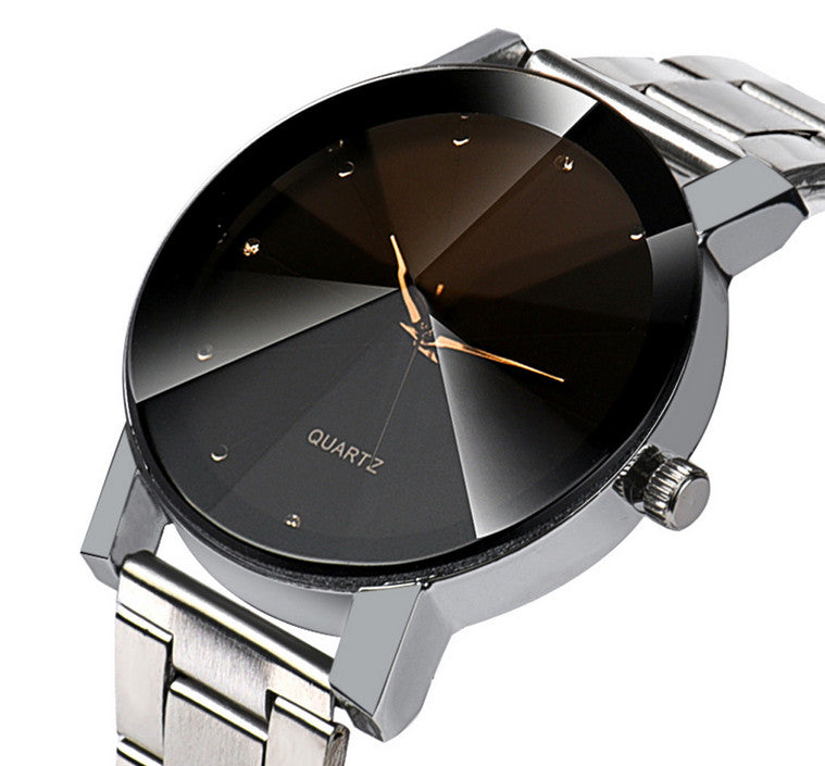Men's Luxury Refraction Stainless Steel Wrist Watch - Beacon & Bay Clothing