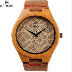 Men's Bamboo Wooden Watch Unique Design - Beacon & Bay Clothing