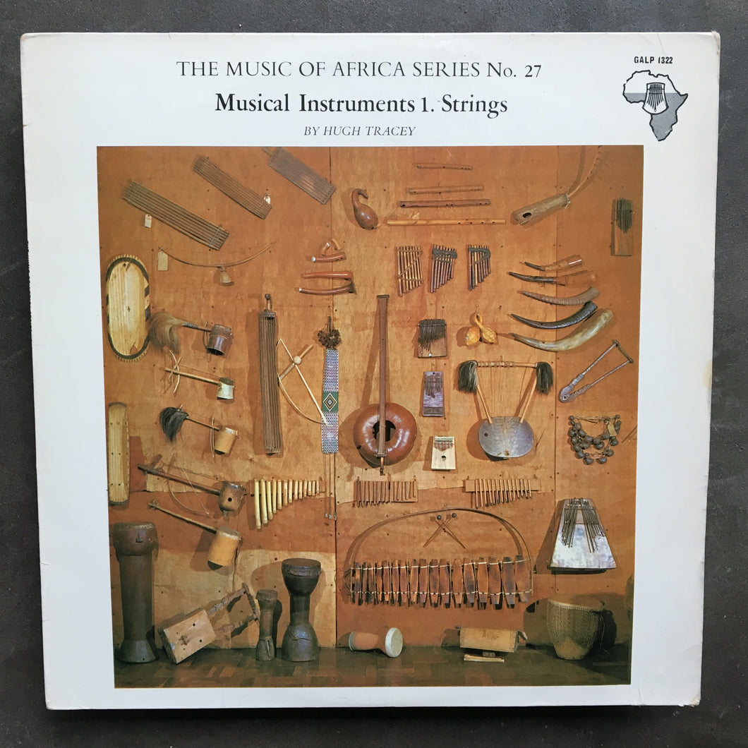 Various ‎– The Music Of Africa Series No. 27 Musical Instruments 1. Strings