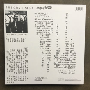 Kevin Harrison ‎– Inscrutably Obvious