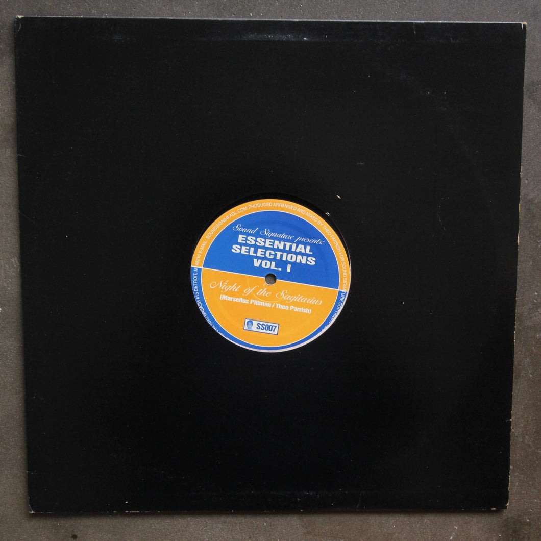 Marsellus Pittman* / Theo Parrish ‎– Essential Selections Vol. 1