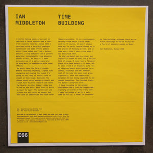 Ian Middleton ‎– Time Building