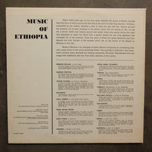Various ‎– Music Of Ethiopia