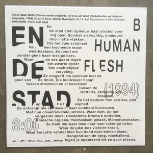 Smalts / Human Flesh ‎– Periodiciteit / En De Stad