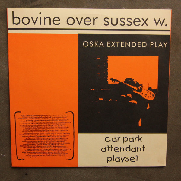Bovine Over Sussex W ‎– Car Park Attendant Playset