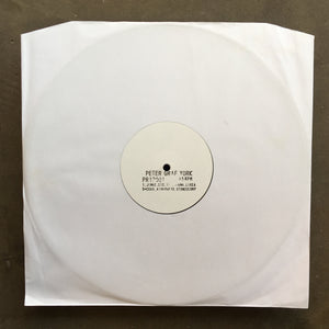 "Peter Graf York ‎– 12"" Sampler"