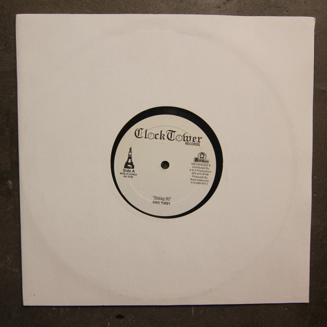 King Tubby / Johnny Lover / Brad All-Stars ‎– Stalag 80 / Jah Station / Jah Dub