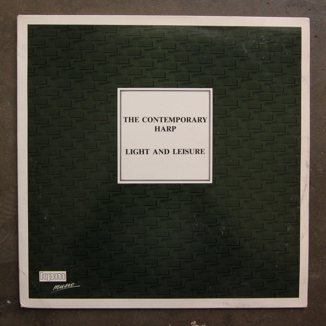 Various ‎– The Contemporary Harp / Light And Leisure