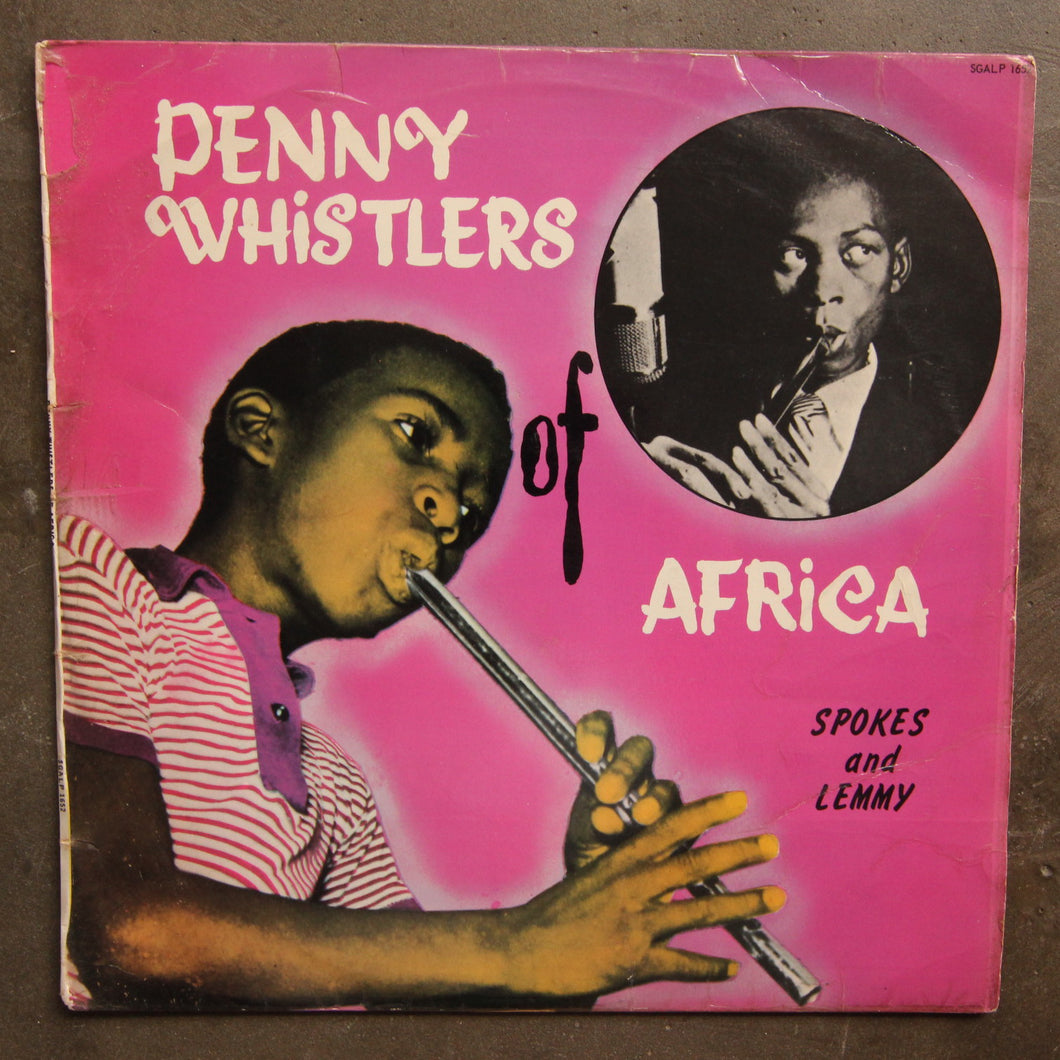 Spokes & Lemmy ‎– Penny Whistlers Of Africa