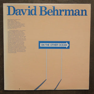 David Behrman ‎– On The Other Ocean