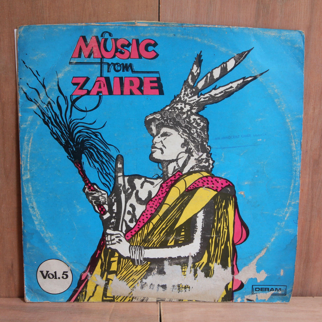 Various ‎– Music From Zaire Vol.5
