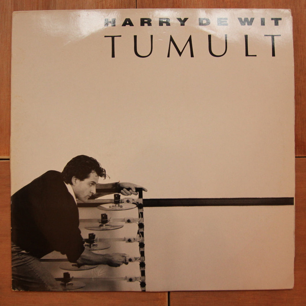 Harry de Wit ‎– Tumult