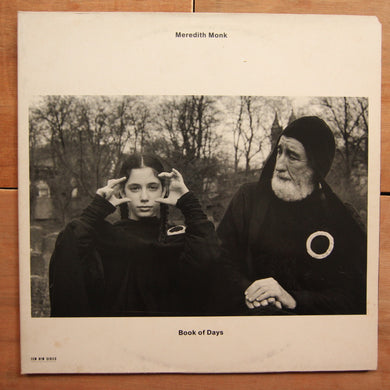 Meredith Monk ‎– Book Of Days