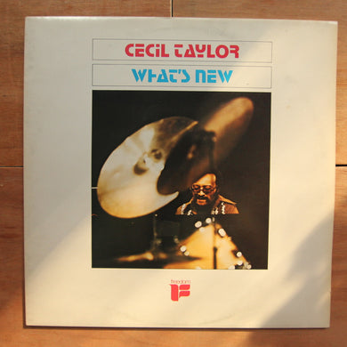 Cecil Taylor ‎– What's New