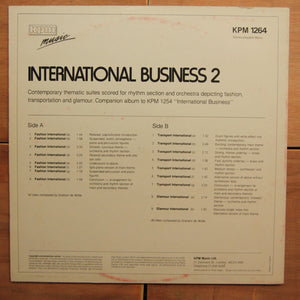 Graham De Wilde ‎– International Business 2