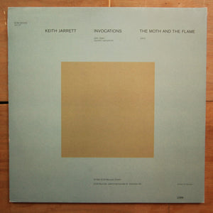 Keith Jarrett ‎– Invocations / The Moth And The Flame