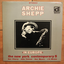 Archie Shepp With The New York Contemporary 5* ‎– In Europe