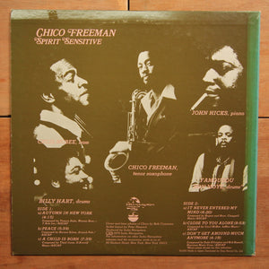 Chico Freeman ‎– Spirit Sensitive