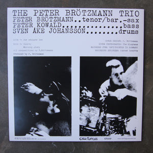 The Peter Brötzmann Trio ‎– For Adolphe Sax