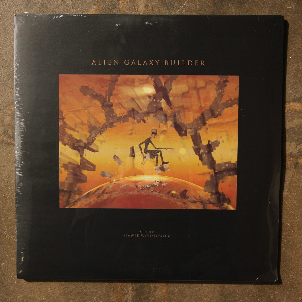 Various ‎– Alien Galaxy Builder (3LP)
