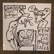 Jean Dubuffet ‎– Musical Experiences