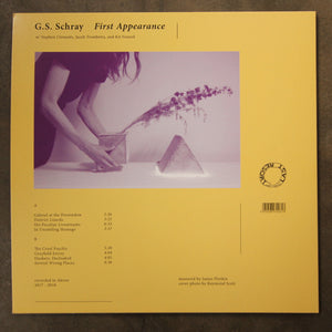 G.S. Schray ‎– First Appearance