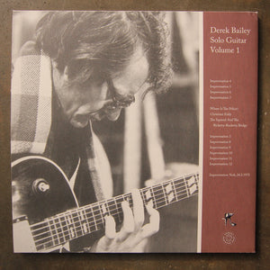 Derek Bailey ‎– Solo Guitar Volume 1
